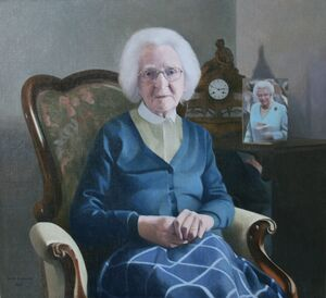 Artist`s Mother at 100