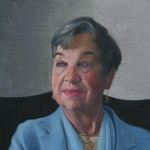 Commissioned Portrait Painting of Ruth Marsden