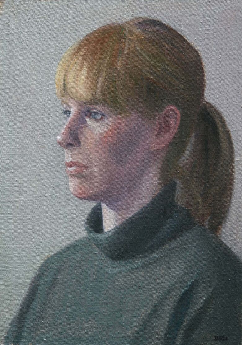 Commissioned Portrait Painting of Emily