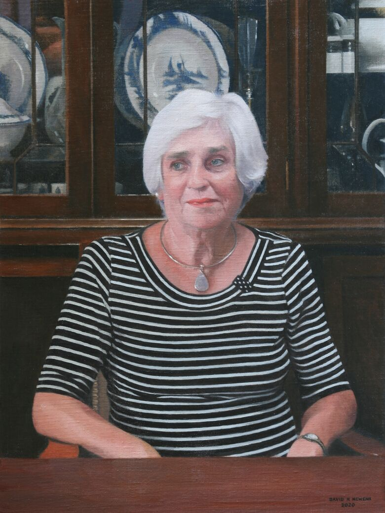 Commissioned Portrait Painting of Shirley