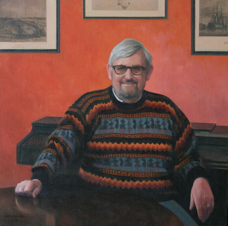 Commissioned Portrait Painting of Dr Martin Read CBE