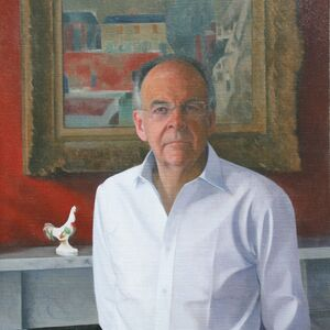 Commissioned Portrait Painting of Lord Falconer of Thoroton