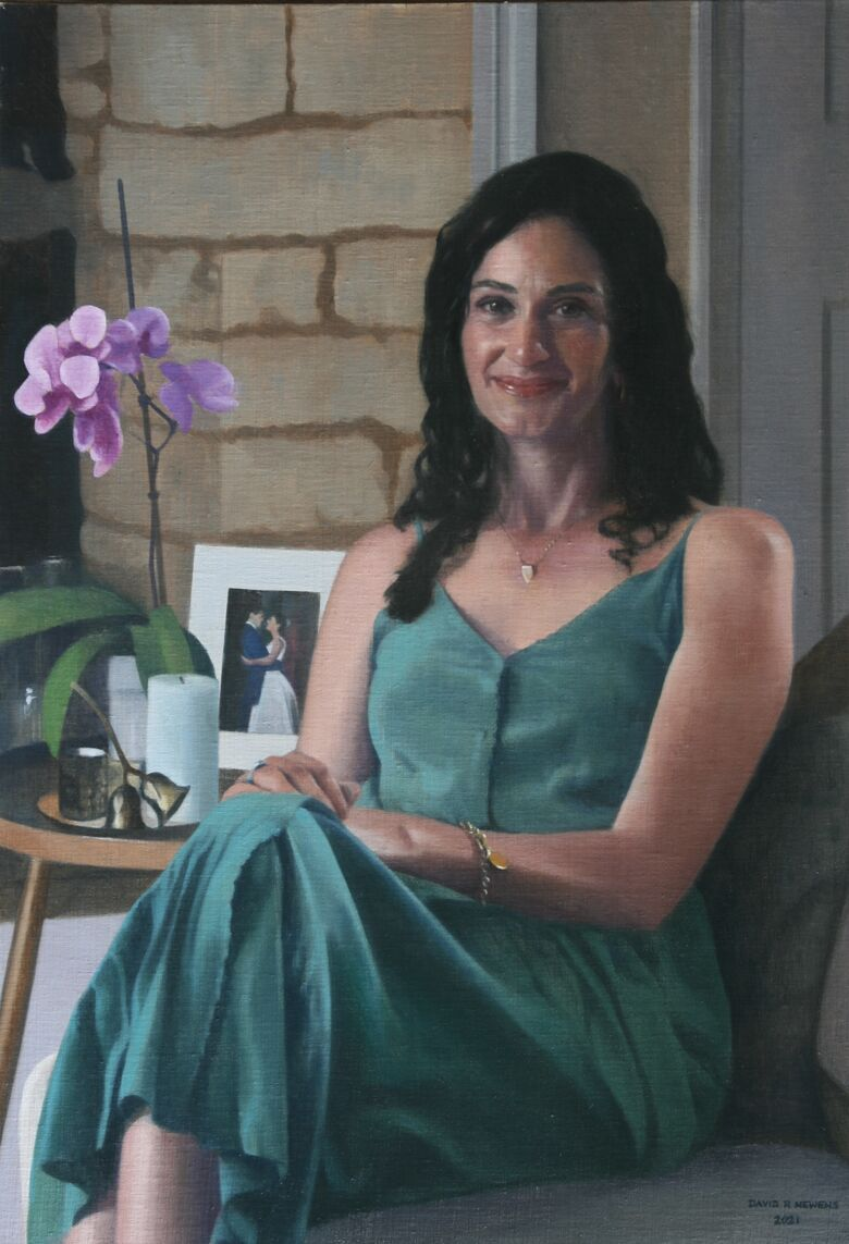 Commissioned Portrait Painting of Barbara