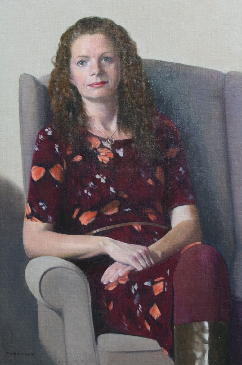 Commissioned Portrait Painting of Louise