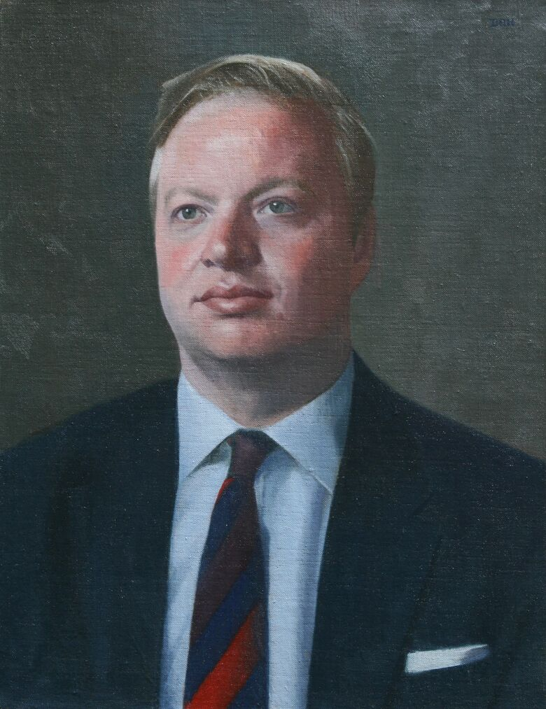 Commissioned Portrait Painting of Tommy