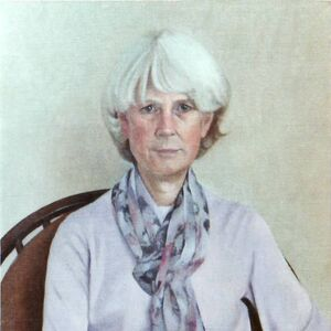 Commissioned Portrait Painting of Margaret