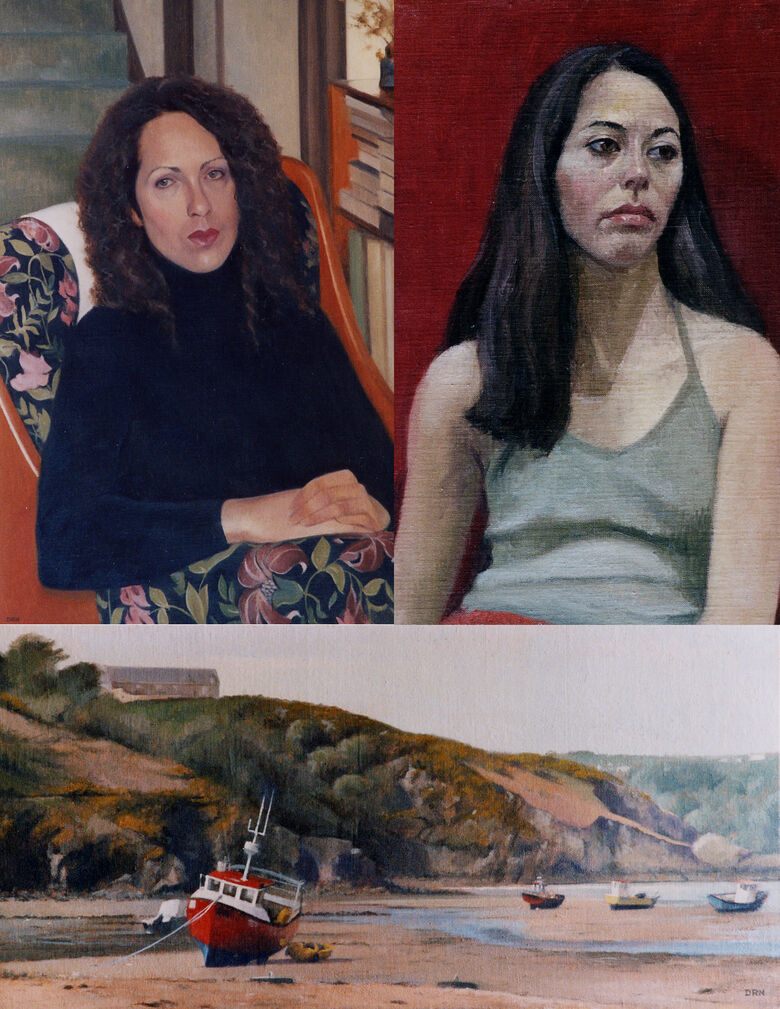 A selection of artwork from David Newens