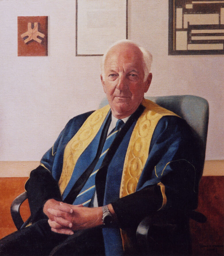 Commissioned Portrait Painting of Professor F.R. Hartley