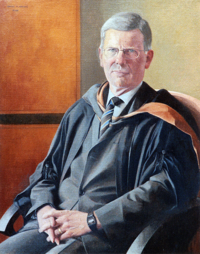 Commissioned Portrait Painting of Richard Priestley