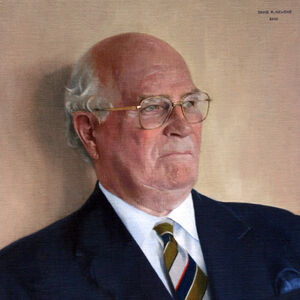 Commissioned Portrait Painting of Lord Vincent of Coleshill, GBE, KCB, DSO
