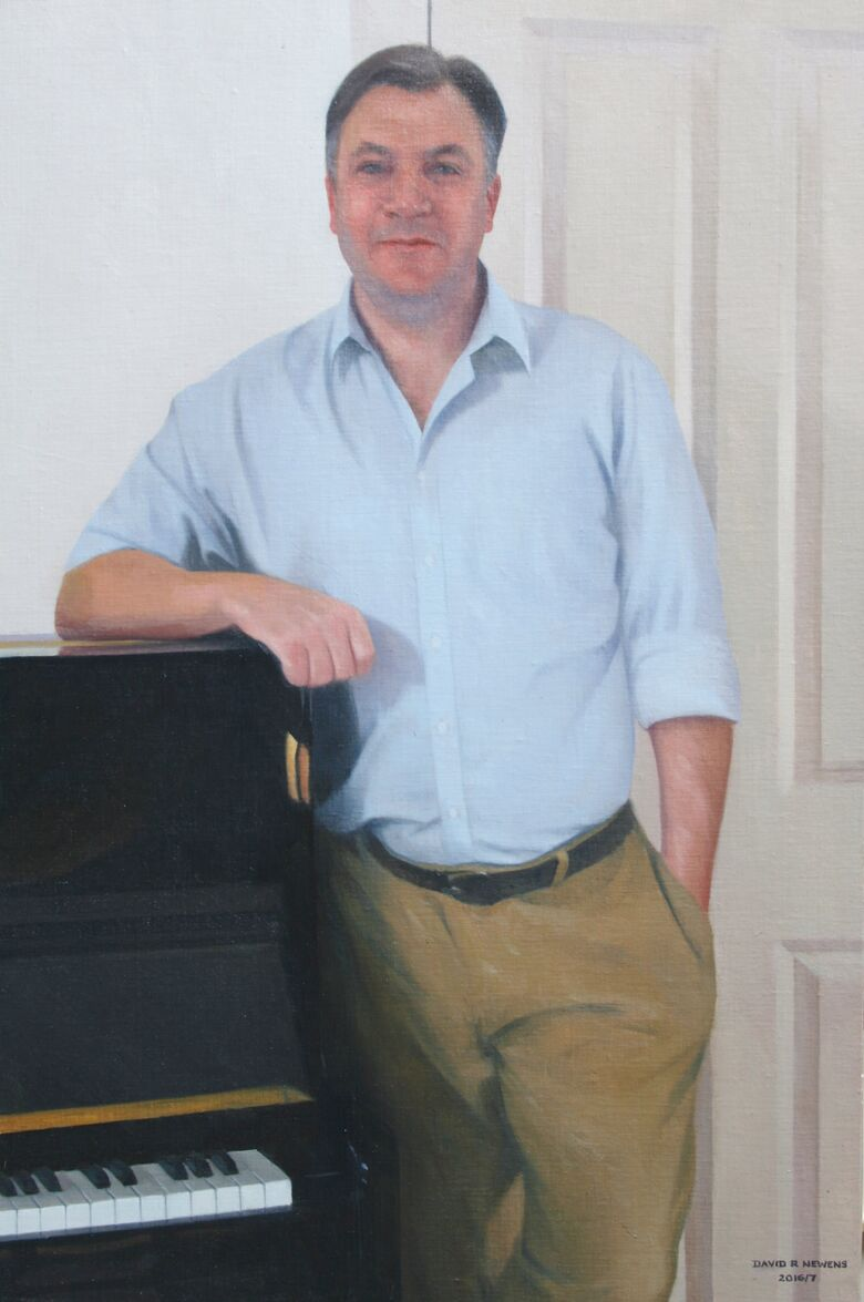 Commissioned Portrait Painting of Ed Balls
