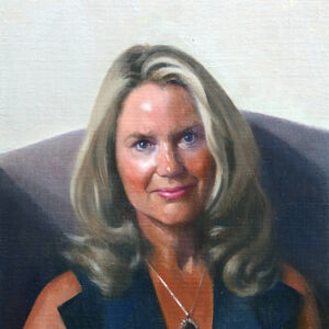 Commissioned Portrait Painting of Christina