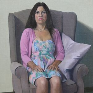 Commissioned Portrait Painting of Jane